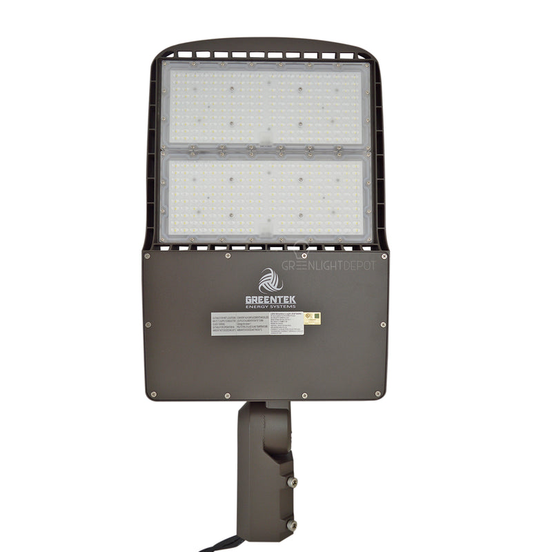 LED Street Light - 200W - 28,000 Lumens - Shorting Cap - Slip Fitter Mount - AL2 Series - UL+DLC