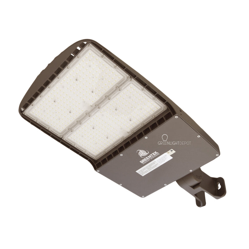 LED Street Light - 300W - 42,000 Lumens - Shorting Cap - Yoke Mount - AL2 Series - UL+DLC