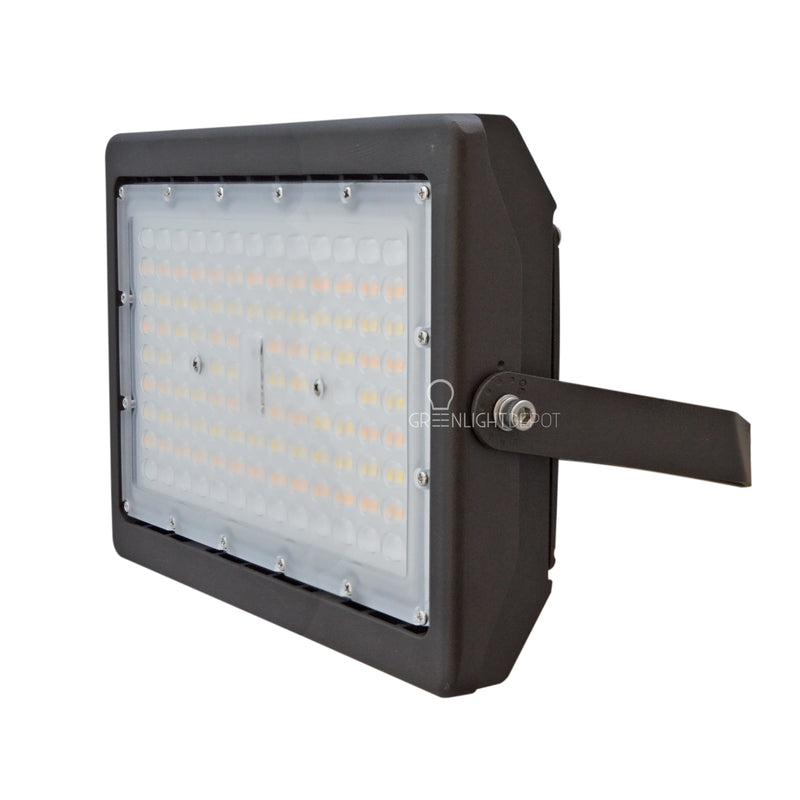 LED Flood Light - 70W - Selectable Color Temperature - 275W HID/HPS Replacement - (UL+DLC) - 5 Year Warranty