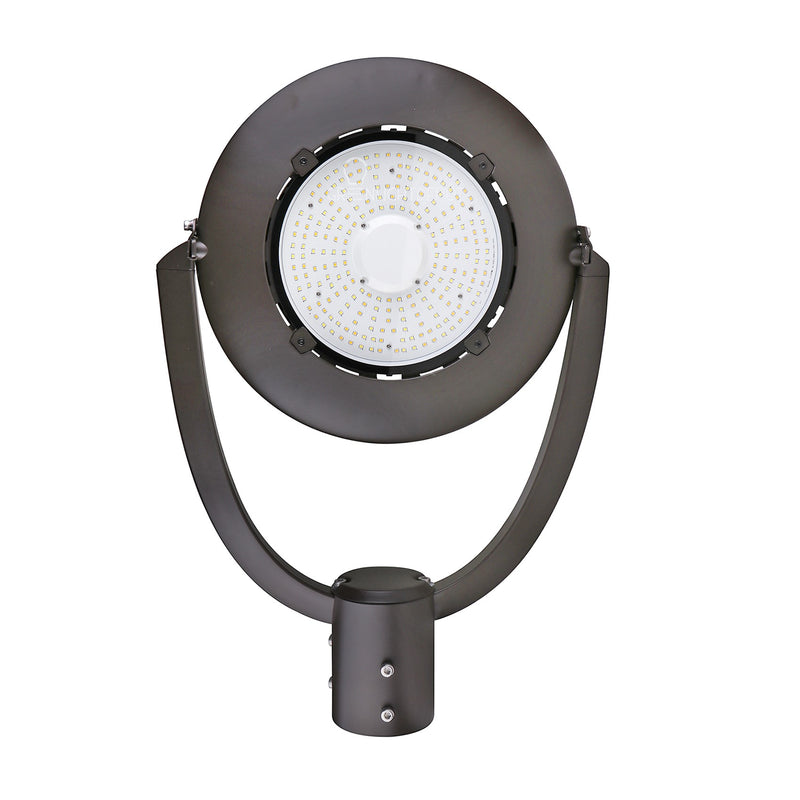 LED Post Top Light - Selectable Color Temperature - 35W - Bronze - Shorting Cap - Landscape Light