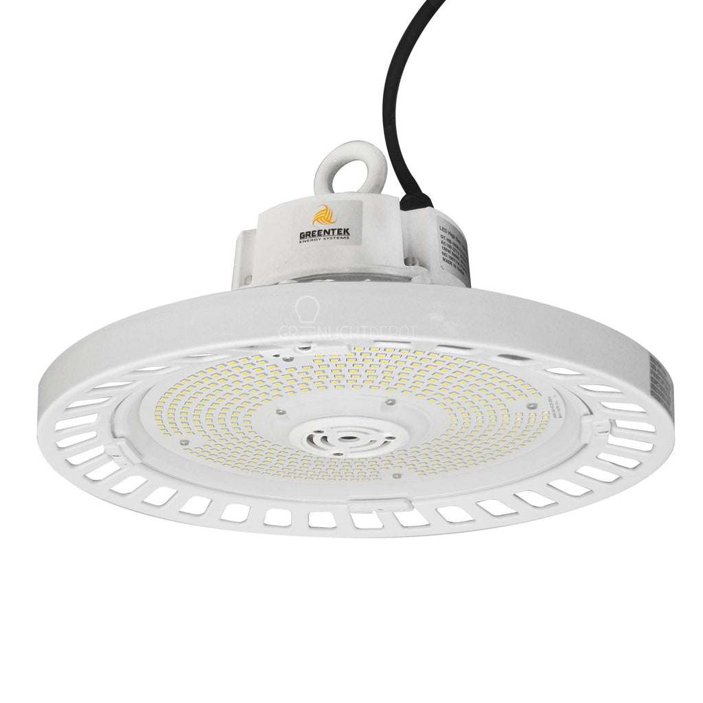 LED High Bay - 150W - 5000K - (UL+DLC) - UFO - Hook Mount - 5 Year Warranty
