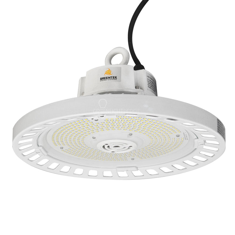 LED UFO High Bay - 150W - 5000K - (UL+DLC) - Hook Mount - 5 Year Warranty