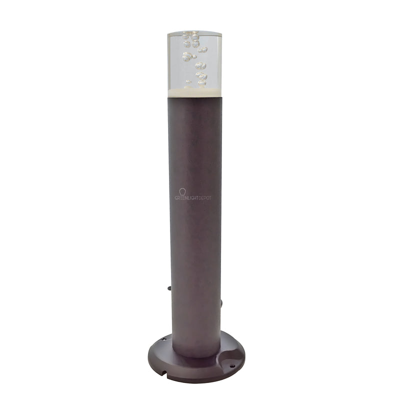 LED Round Column Bollard Landscape Light