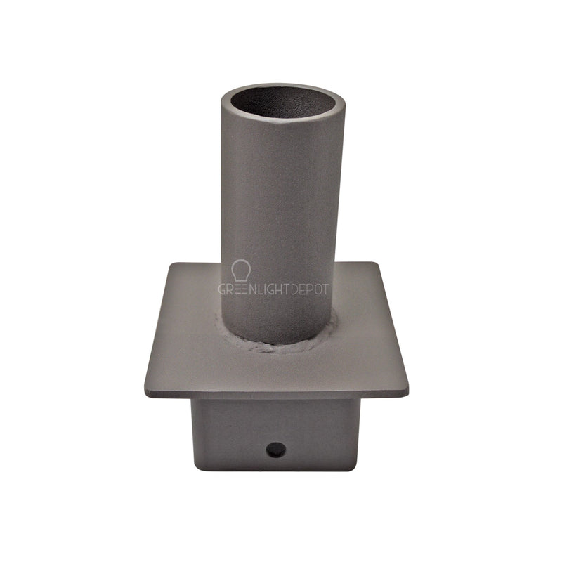 "LED Shoebox Mount - 4"" Pole Adapter"