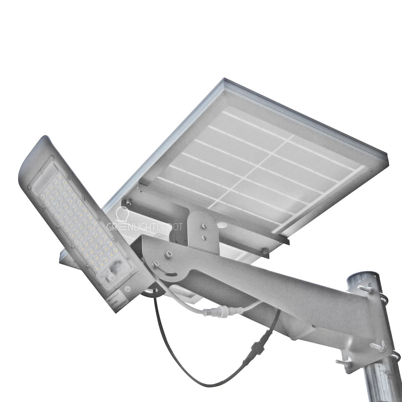 Solar LED Pathway And Street Light - 4000+ Lumens