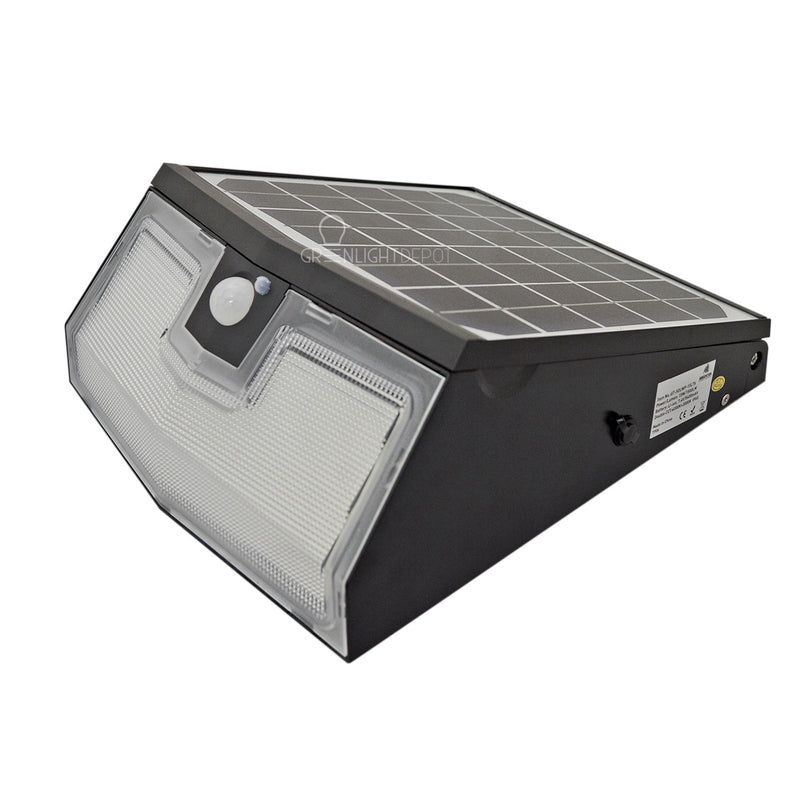 Solar LED Wall Mount Light - 1,500 Lumens