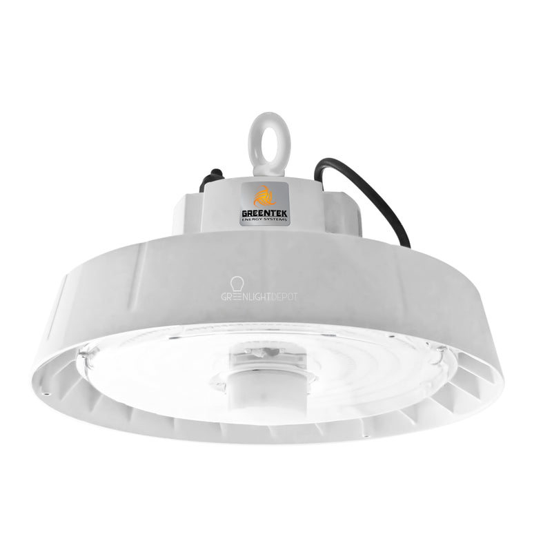 LED High Bay - 150W - Motion Sensor - Hook Mount - UFO - 5 Year Warranty - (UL+DLC)