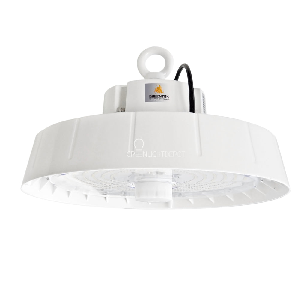 LED High Bay - 240W - Motion Sensor - Hook Mount - UFO - 5 Year Warranty - (UL+DLC)