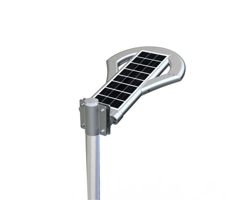 Solar LED Pathway And Street Light - 2500Lm - Remote Control - Green Light Depot