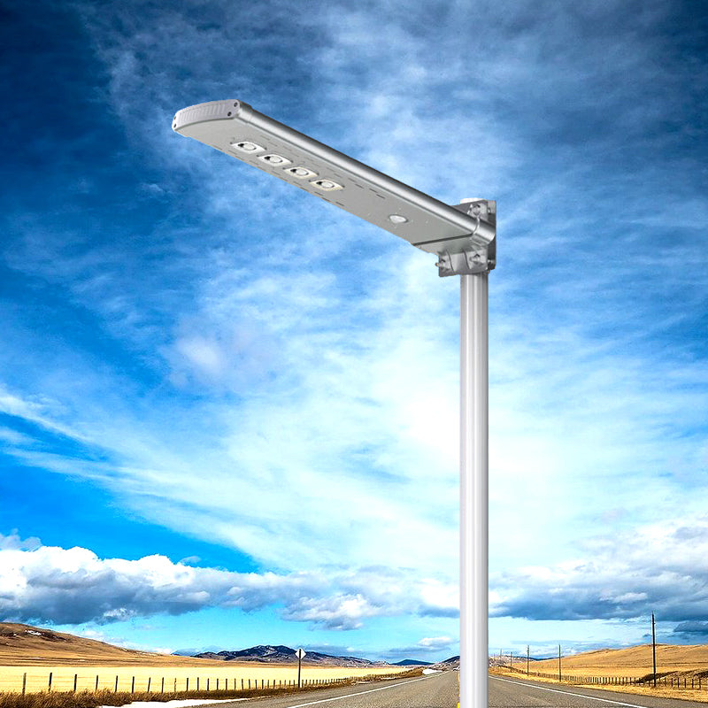 Solar LED Pathway And Street Light - 3,000 Lumens - Remote Control - Green Light Depot
