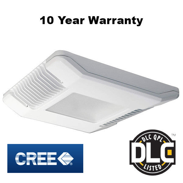 96W CREE Canopy Light Drop Lens - CPY250 - Green Light Depot