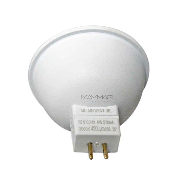 LED MR16 - 6W - 450lm - 35° - Dimmable - UL+ES