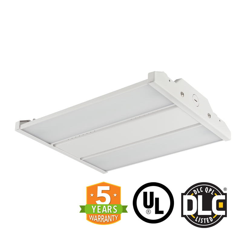 2ft LED Linear High Bay - Frosted Lens - 110W - Cable Mounting - Gen 3 - (UL+DLC) - Green Light Depot
