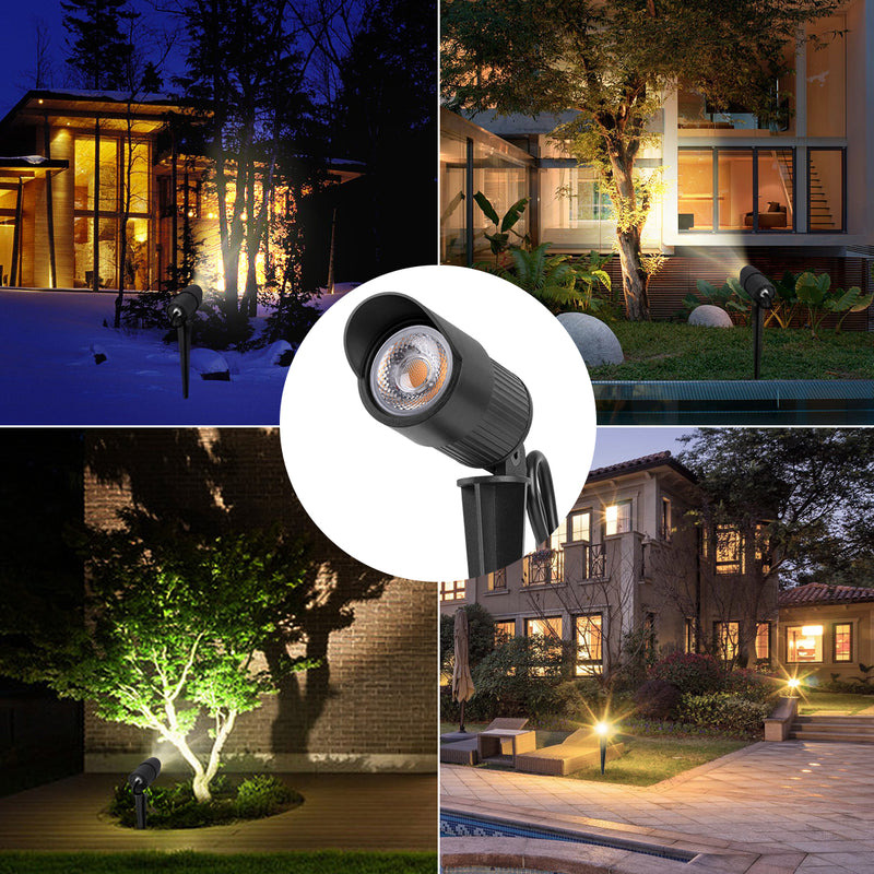 LED Landscape Light - 10W - 630Lm - Accent Light - Stake Mount