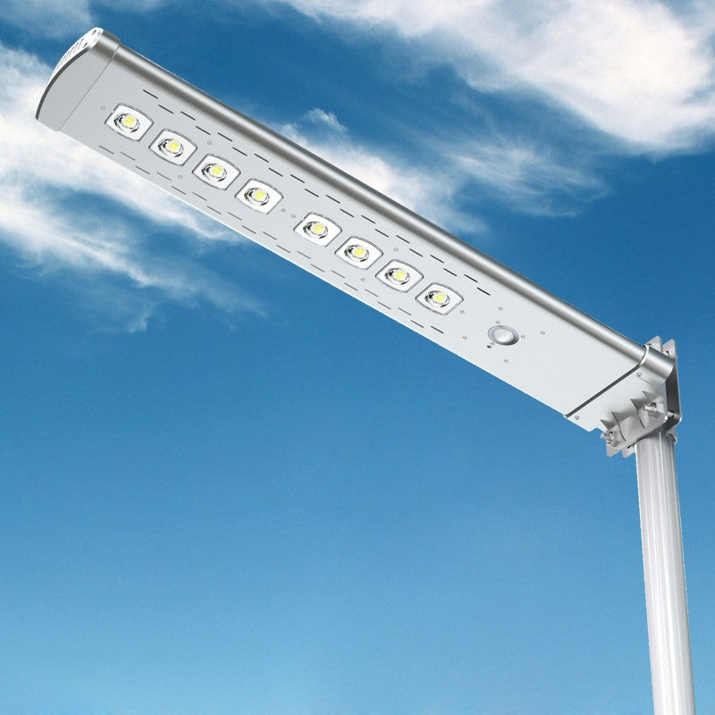 Solar LED Street Light - 4,500 Lumens - Remote Control - Green Light Depot