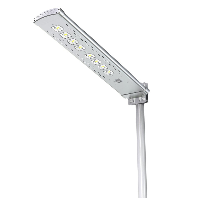 Solar LED Pathway And Street Light - 4500Lm - Remote Control - Green Light Depot