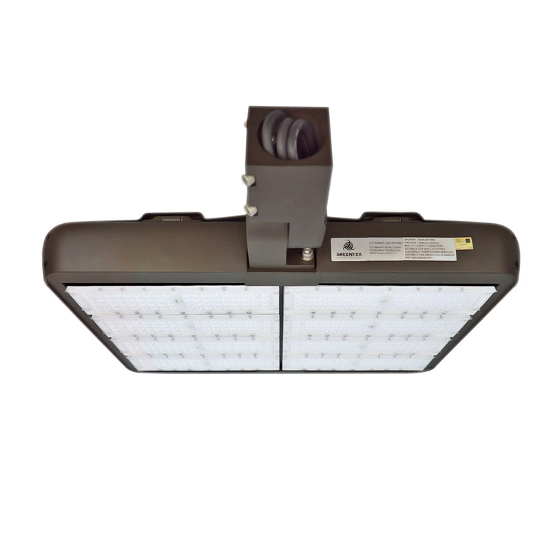 LED Street Light - High Voltage - High Mast Stadium Lights - 480W - Bronze - Slip Fitter Mount - DLC Listed - 5 Year Warranty - Green Light Depot