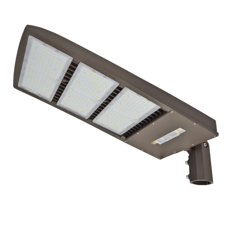 LED Street Light - 450W - High Voltage 480V - Slip Fitter Mount - 5 Year Warranty - With Shorting Cap - Green Light Depot