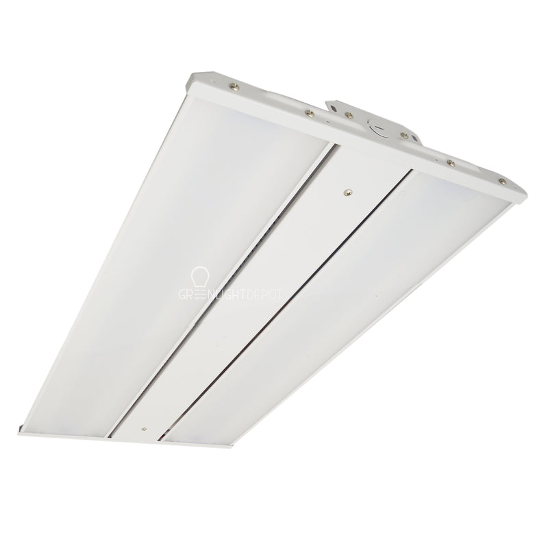 Linear High Bay - 2FT 220W - Slim High Bay - Frosted Lens - Chain Mounting - Gen 5 - (UL+DLC)