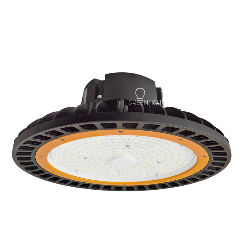LED High Bay - 100W - 14,500 Lumens - Hook Mount - Tempered Glass - UFO Series - UL+DLC