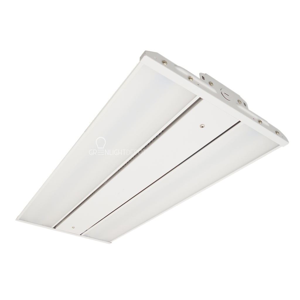 LED Linear High Bay - 110W - Slim High Bay - Frosted Lens - Chain Mounting - Gen 5 - (UL+DLC)