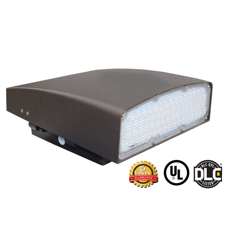 120W LED Wall Pack Light - WPK Series - Dark Sky (UL + DLC)