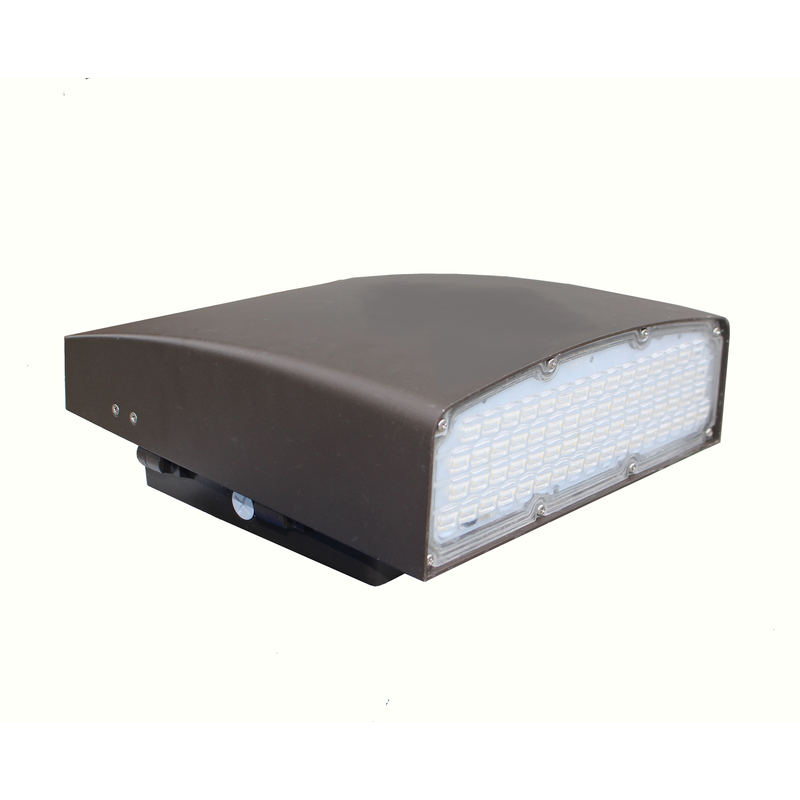 80W LED Wall Pack Light - WPK Series - Dark Sky (UL + DLC) - Green Light Depot