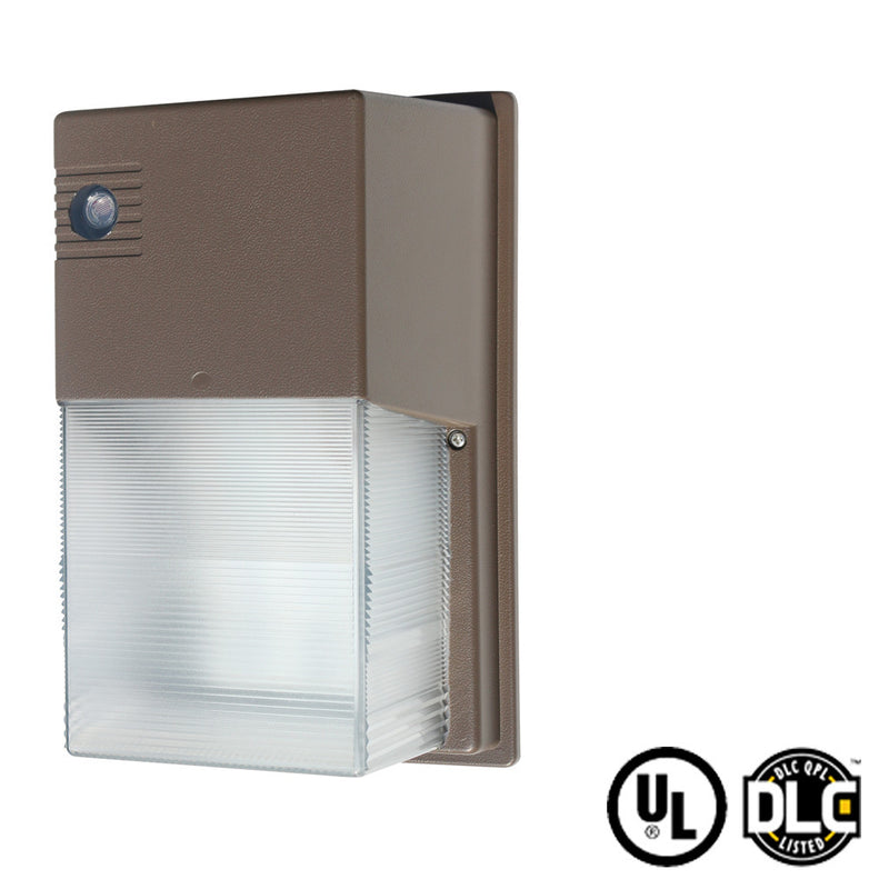 30W Mini LED Wall Pack Light - (DLC + UL) - Photocell Dusk To Dawn Sensor - Green Light Depot - 1
