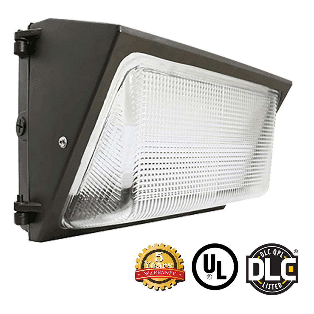 50W LED Wall Pack Light - Forward Throw - DLC Listed