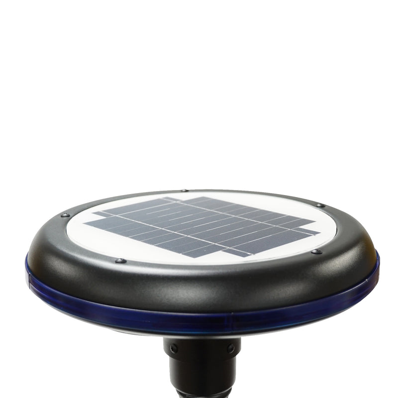 Solar LED Garden Light - 150 Lumens - Solar LED Courtyard Bollard Lights - 6000K - Green Light Depot