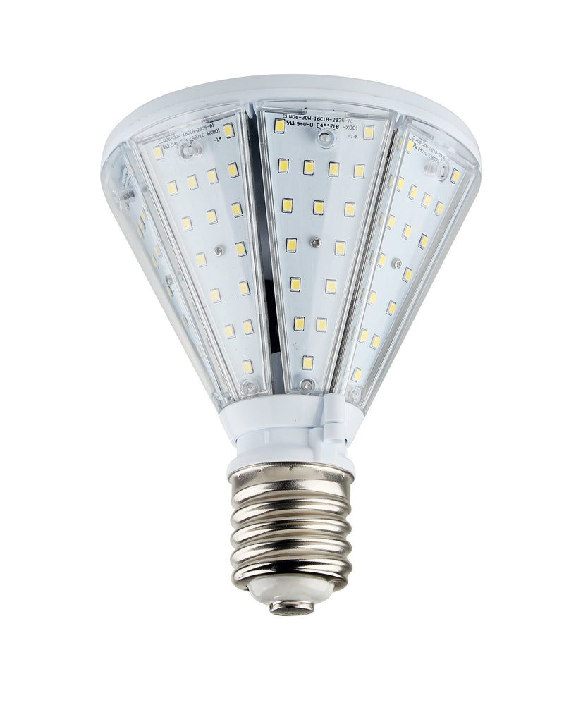 50W LED Corn Bulb Post Top - Bottom Socket - Mogul Base (E39) - (UL+DLC)