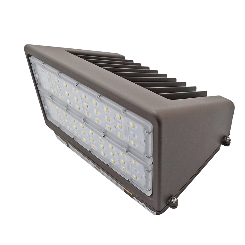 100W LED Wall Pack Light - Full Cutoff - Dark Sky - DLC Listed - Green Light Depot