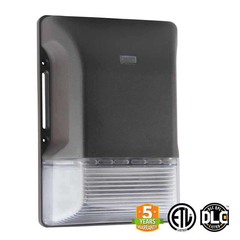 20W LED Mini Wall Pack Light - With Photocell - (ETL + DLC) - Green Light Depot
