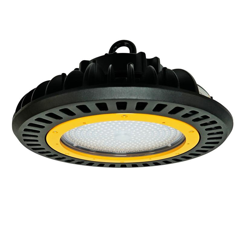 LED UFO High Bay - 240W - Optical Lens - Hook Mount - (UL+DLC) - Green Light Depot