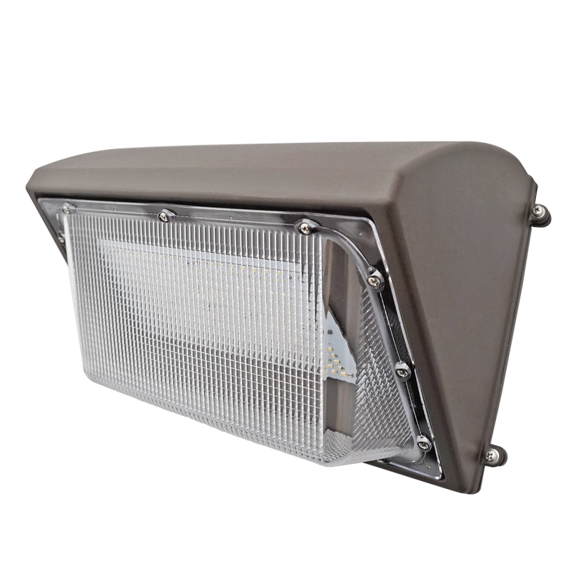 35W LED Wall Pack Light - Semi-Cutoff - Forward Throw - DLC Listed - Green Light Depot