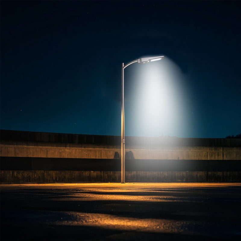 Solar LED Pathway And Street Light - 1,600 Lumens