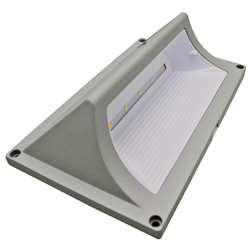 Solar Step Light - Solar Security Light - 3000K - Green Light Depot