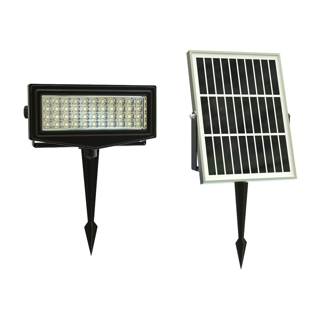 Solar LED Flood Light - Security Flood Light - RGB