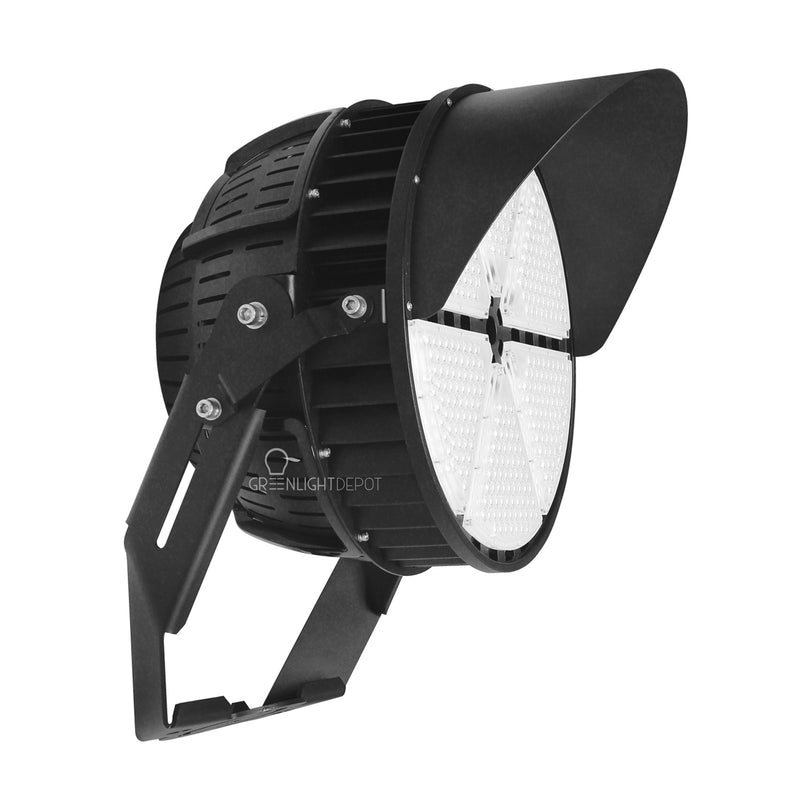 High Mast Stadium Lights - 1200W - Sport Light - 277 to 480V - (DLC+UL) - 5 Year Warranty