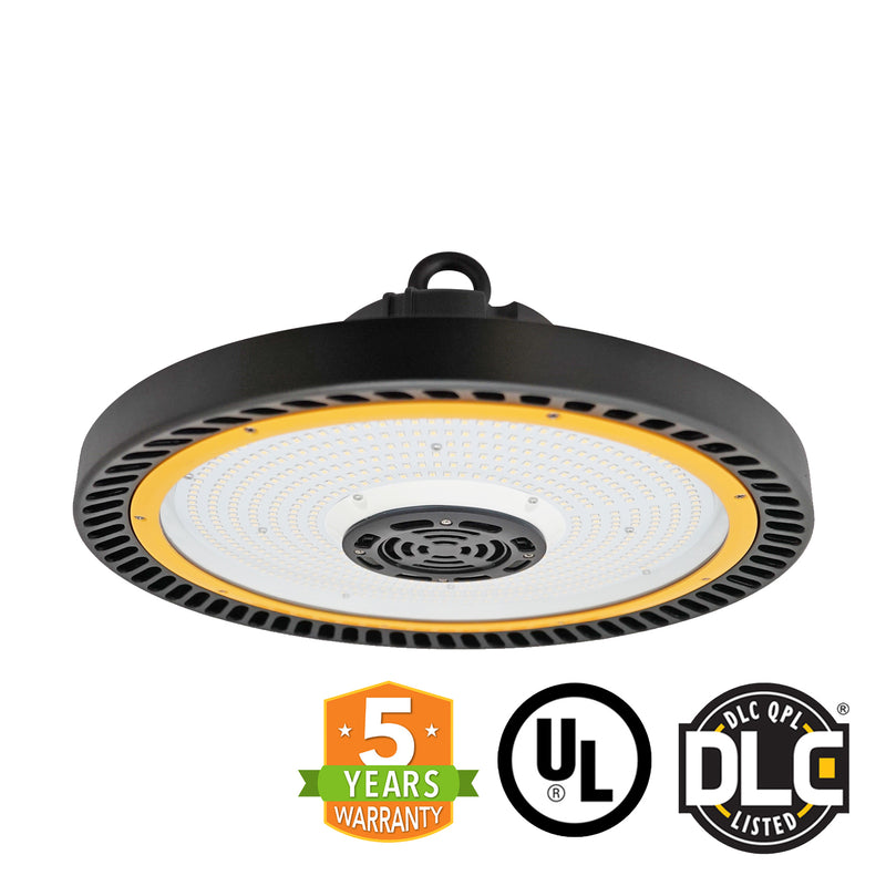 LED UFO High Bay - 240W - (UL+DLC) - Hook Mount - 5 Year Warranty - Green Light Depot