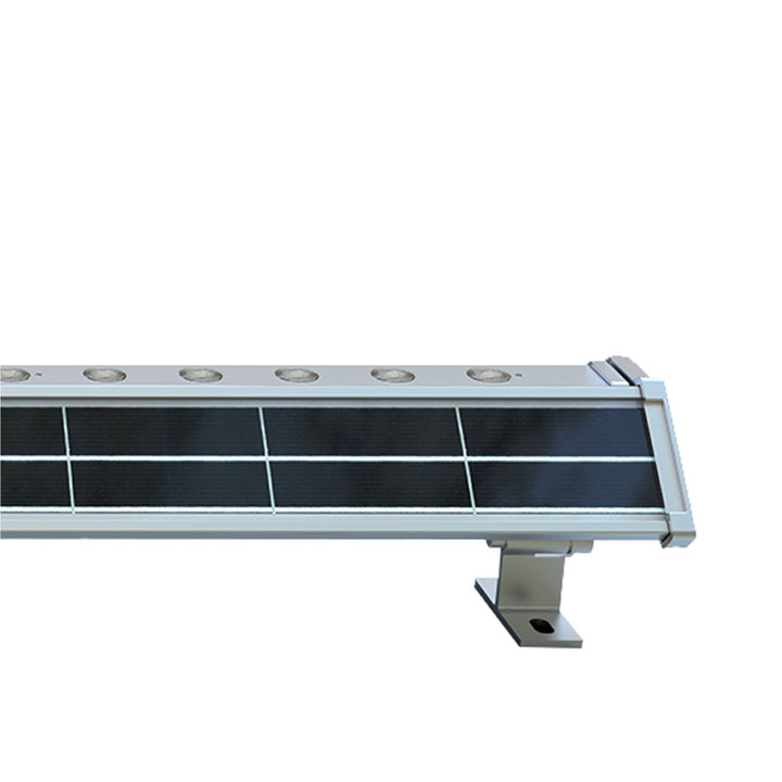 Solar LED Wall Washer Light - 400 Lumens Solar Advertising Lights - 6000K - Green Light Depot