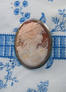 Large Oval Cameo