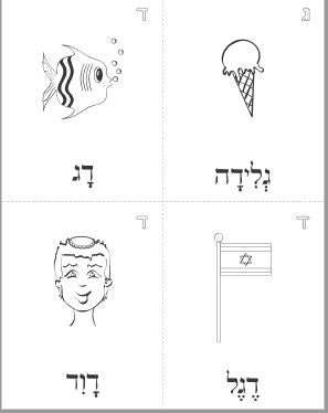 Part One: Learn the Hebrew Letters
