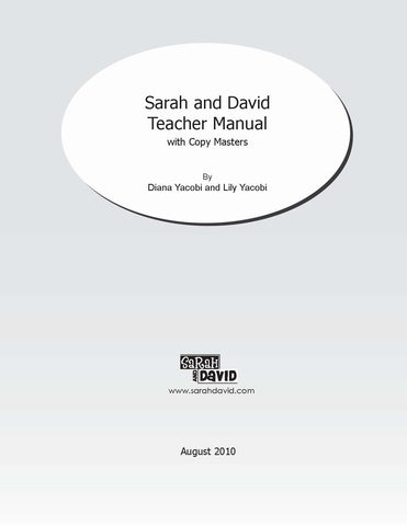 Teacher Manual Part One