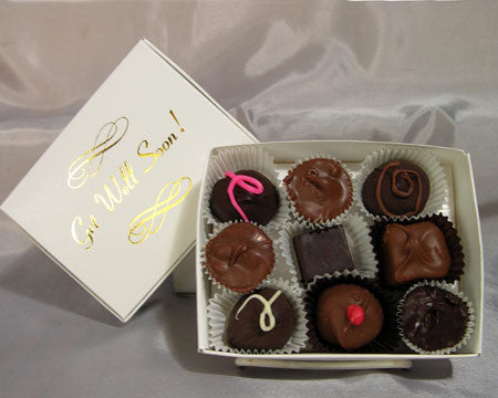 Get Well quarter lb assorted chocolates