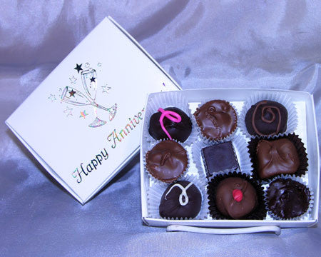 happy anniversary assorted chocolates