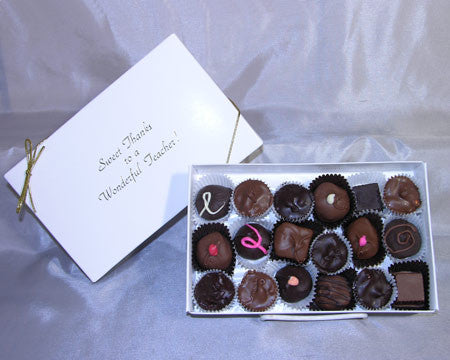 teacher gift assorted chocolates box