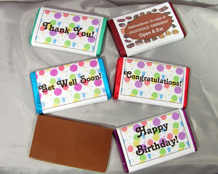 Message candy bar medium