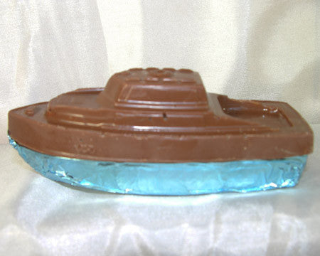 milk chocolate cabin cruiser