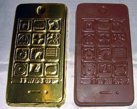 milk chocolate smartphone